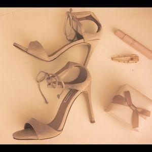 Steve Madden suede stiletto heels